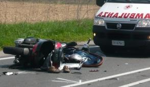 incidente in moto