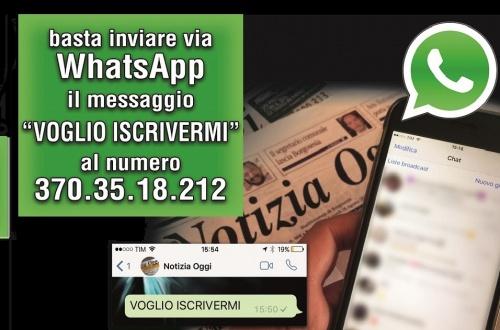 Iscrivetevi Al Gruppo Whatsapp Di Notizia Oggi Notizia