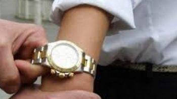rubato orologio