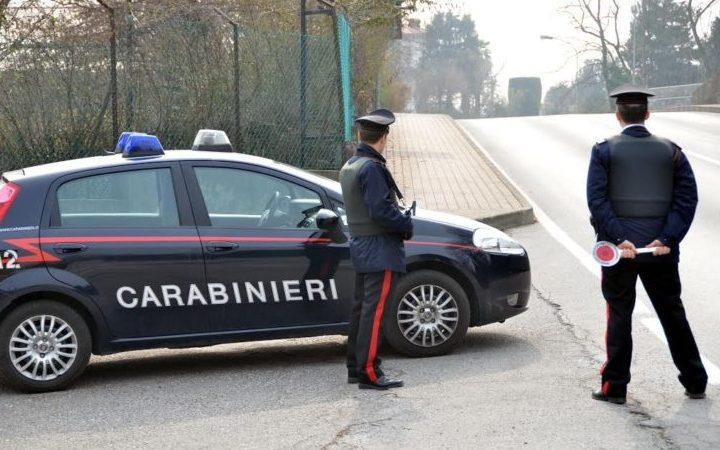 Gattinara carabinieri denunciano 33enne. Aveva assunto stupefacenti