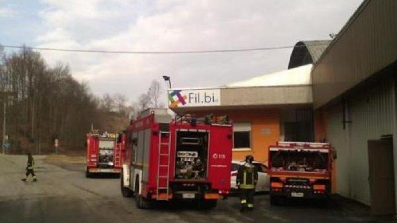 Pray incendio, vigili del fuoco, fabbrica