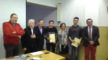 Lancia Story premia studenti dell'Itis Borgosesia