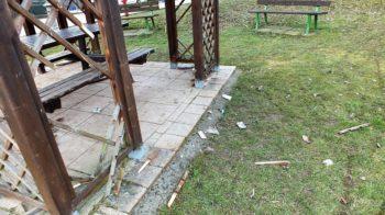 Vintebbio vandali al parco giochi GALLERY