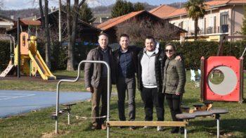 Gattinara nuovo gioco al parco in memoria di Franco Lamolinara