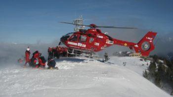 scialpinista cade