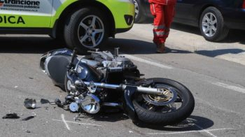 incidente in moto
