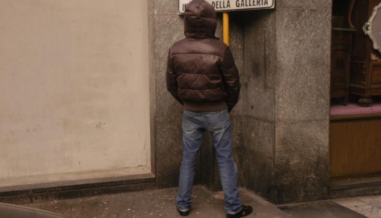 urina per strada