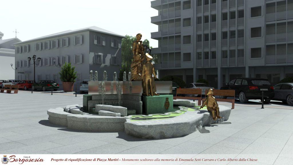 piazza borgosesia
