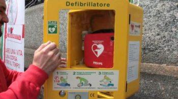 salvato col defibrillatore
