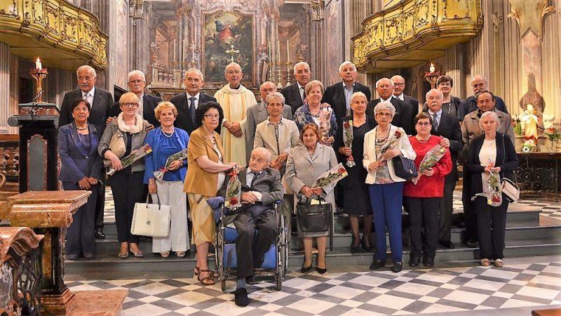 Anniversario Di Matrimonio 66 Anni.Ghemme Anniversari Di Nozze Maria Piera E Vassilij Sposi Da 66