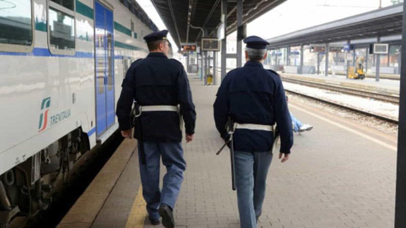 furto sul treno