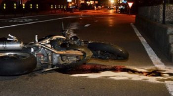 incidente tra moto