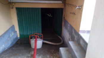 garage allagato