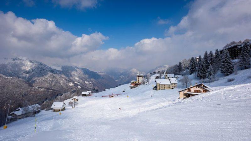immacolata sugli sci
