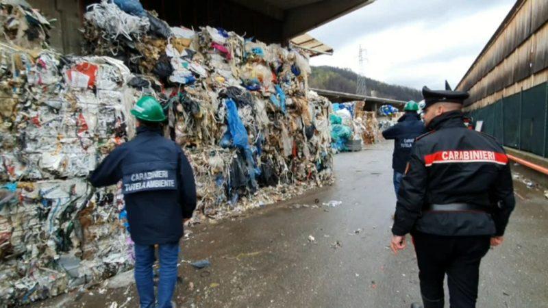 I Noe di Milano hanno sequestrato 815 tonnellate di rifiuti