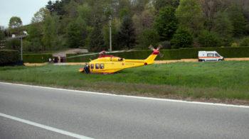 motociclista ferito