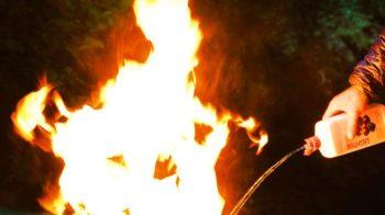alcool sul fuoco