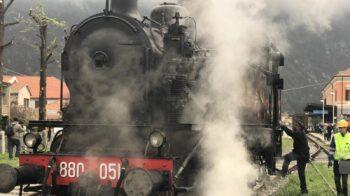 Varallo treno storico