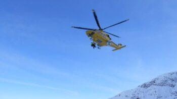 Sbaglia strada per i salati: escursionista trovato con l'elicottero