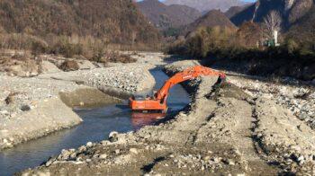 Varallo cantieri in frazione dopo l'alluvione