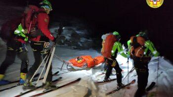 scialpinisti dispersi
