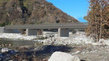 rendering ponte provvisorio Romagnano
