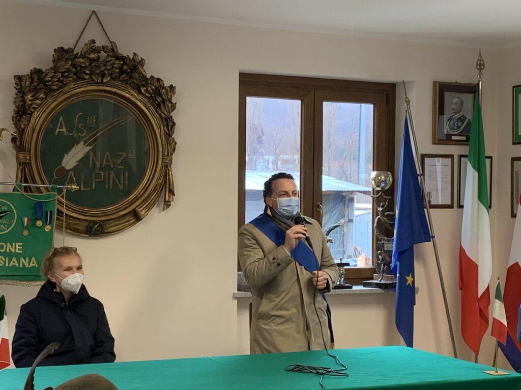 Alpini e Fondazione Valsesia consegna donazione