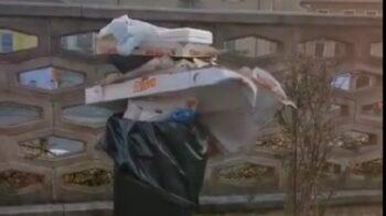 Roasio rifiuti fuori