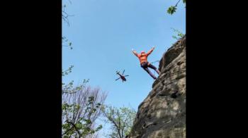 scalatore infortunato