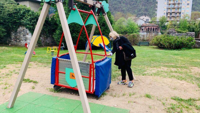 Borgosesia riaperto parco Magni