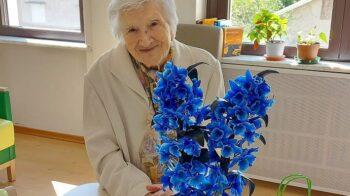 Serravalle nonna Nina taglia il traguardo dei 104 anni