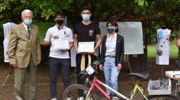 La Valsesia in bicicletta migliore progetto dei ragazzi del Lancia. Le foto
