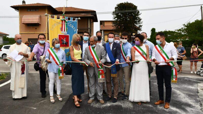 Lenta dedica una strada a Sant'Olimpo