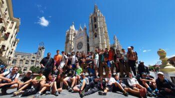 Giovani di Cavallirio pellegrini sul Cammino di Santiago