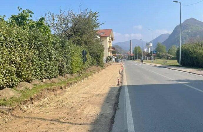 Pista ciclabile Quarona-Varallo: riparte il cantiere