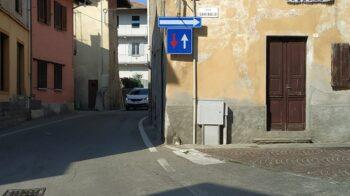 Prato Sesia via Garibaldi sarà tutta a senso unico