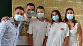 Gattinara cento giovani al Vax Day in palestra. Guarda le foto