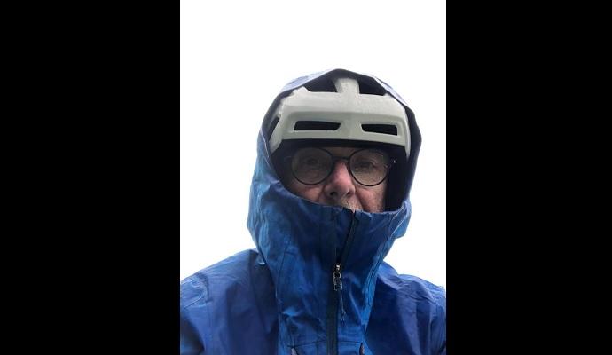 In bici da Oslo a Capo Nord: viaggio solitario dell'ex sindaco Trivero