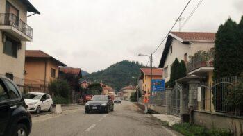 Crevacuore cambia volto via Garibaldi: in cantiere il nuovo marciapiede