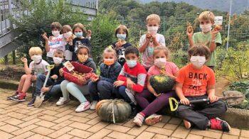 A Portula l'orto dei bambini offre i cavoli per il tapulone