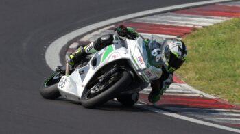Studente di Romagnano sfiora i mondiali di moto SBK
